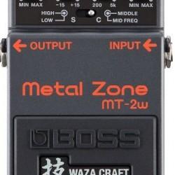 BOSS MT-2W Waza Metal Zone Distortion Pedalı