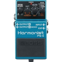 Boss PS-6 Harmonist Pedalı